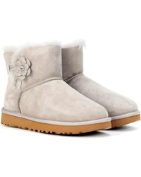 UGG - Mini Bailey Petal Suede Boots - Lyst