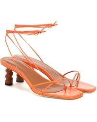 Rejina Pyo - Doris Leather Sandals - Lyst