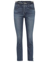 3x1 - W4 Raw Edge Shelter Straight Jeans - Lyst