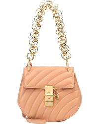 Chloé - Drew Mini Bijou Leather Shoulder Bag - Lyst