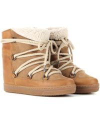 Isabel Marant - Nowles Ankle Boots - Lyst
