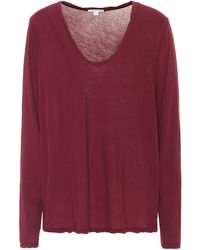 James Perse - Heather High-gauge Top - Lyst