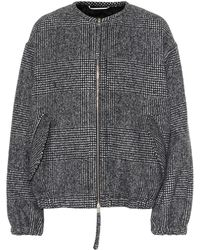 Rochas - Plaid Wool-blend Jacket - Lyst
