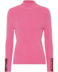 Delpozo Verzierter Pullover aus Wolle