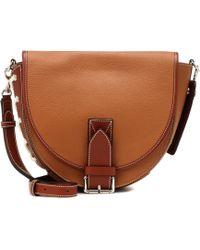 JW Anderson - Saddle Two Tone Leather Shoulder Bag - Lyst