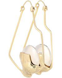 Ellery - Cusp Oyster Gold-plated Earrings - Lyst