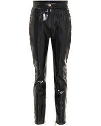 Balmain - Coated Skinny Jeans - Lyst
