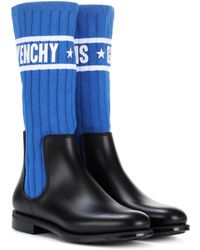 Givenchy - Chelsea Boots mit Sockenakzent - Lyst