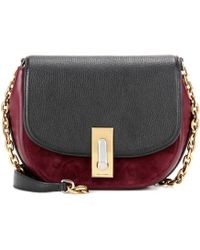 Marc Jacobs | West End Jane Leather And Suede Crossbody Bag | Lyst