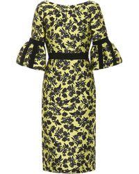 Erdem - Floral Jacquard Dress - Lyst