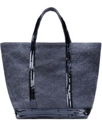 Vanessa Bruno - - Sequined Strap Tote - Women - Linen/flax/pvc - One Size - Lyst