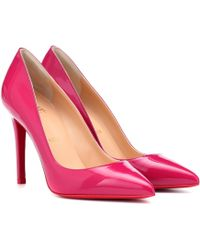 384be6be14b Pigalle 100 Patent Leather Court Shoes