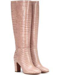 Aquazzura - Stiefel Brera 85 aus Leder - Lyst