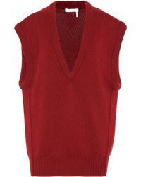 Chloé - Cashmere Sweater Vest - Lyst