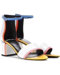 Pierre Hardy - Rally Leather Sandals - Lyst