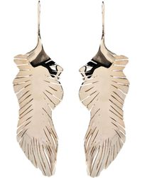 Valentino - Feather Drop Earrings - Lyst