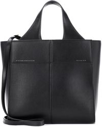 Victoria Beckham - Small Gazette Leather Tote - Lyst