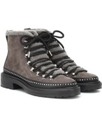 Rag & Bone - Ankle Boots Compass aus Veloursleder - Lyst