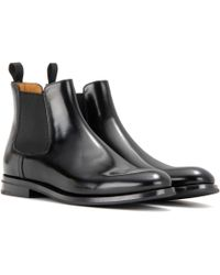 Church's - Monmouth Leather Ankle Boots - Lyst
