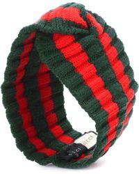 Gucci Striped Wool-blend Headband