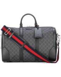 Gucci - Soft Gg Supreme Travel Bag - Lyst
