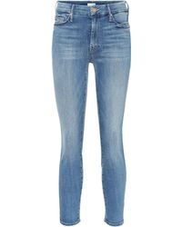 Mother - Jeans The Looker aus Stretch-Baumwolle - Lyst