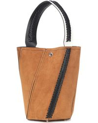 Proenza Schouler - Hex Medium Suede Bucket Bag - Lyst