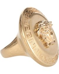 Versace - Ring Medusa - Lyst