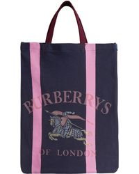 Burberry - Archive Logo Jersey Tote - Lyst
