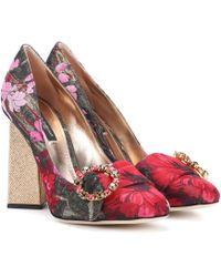 Dolce & Gabbana - Brocade Pumps - Lyst