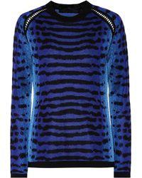 Proenza Schouler - Jacquard Silk Sweater - Lyst
