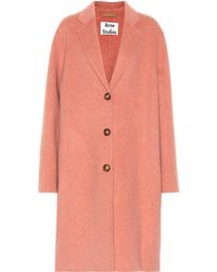 Acne Studios - Avalon Wool And Cashmere Coat - Lyst