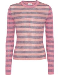 Acne Studios - Rutmar Cotton-blend Ribbed Sweater - Lyst