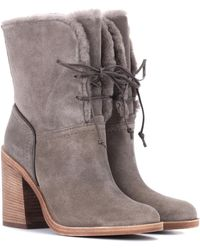 UGG - Jerene Suede Ankle Boots - Lyst