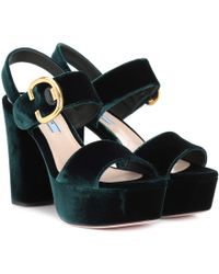 8f627a5a26a Lyst - Stella Mccartney Anklewrap Sandal in Black