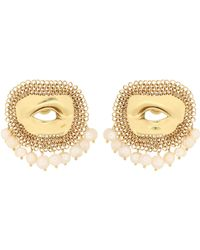 Ellery - Pedigree Xl Eye Earrings - Lyst