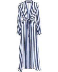 Alexandra Miro - Betty Striped Chiffon Gown - Lyst