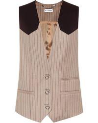 Altuzarra - Gilet d'homme en laine et coton mélangés - Lyst