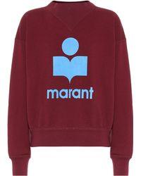 Étoile Isabel Marant - Moby Cotton-blend Sweatshirt - Lyst