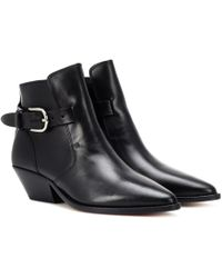 Isabel Marant - Ankle Boots Santiag Buckle Story - Lyst