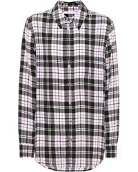 Equipment - Reese Plaid Silk Shirt - Lyst