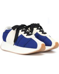 Marni - Zapatillas de gamuza y malla - Lyst
