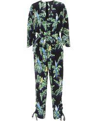 Stella McCartney - Printed Silk Jumpsuit - Lyst