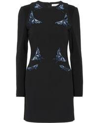 Mugler - Butterfly Embellished Dress - Lyst