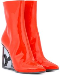 PUMA | Patent Leather Ankle Boots | Lyst