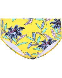 Diane von Furstenberg - Cheeky Floral Bikini Bottoms - Lyst