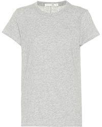 Rag & Bone - Camiseta Tee de algodón - Lyst