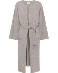 Jardin Des Orangers - Wool And Cashmere Coat - Lyst