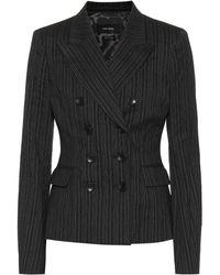 Isabel Marant - Pinstripe Wool-blend Blazer - Lyst