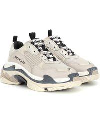Balenciaga - Sneakers Triple S - Lyst
